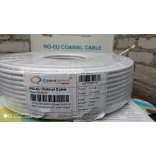 Антенный кабель RG-6 CommSpace , 100м