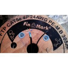 Кабель витая пара FinMark FTP наружная с тросом