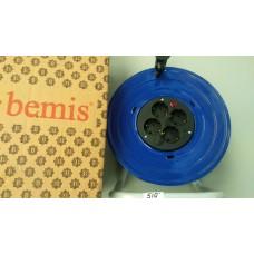 Катушка для удлинителя Bemis 25 м металлическая
