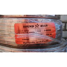 Акустический кабель 2+0,35 медный