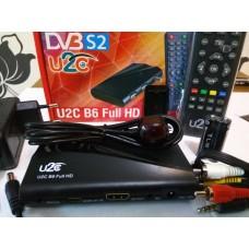Спутниковый тюнер U2C B6 HD
